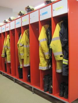 Vestiaire pompier TUBAC EA50